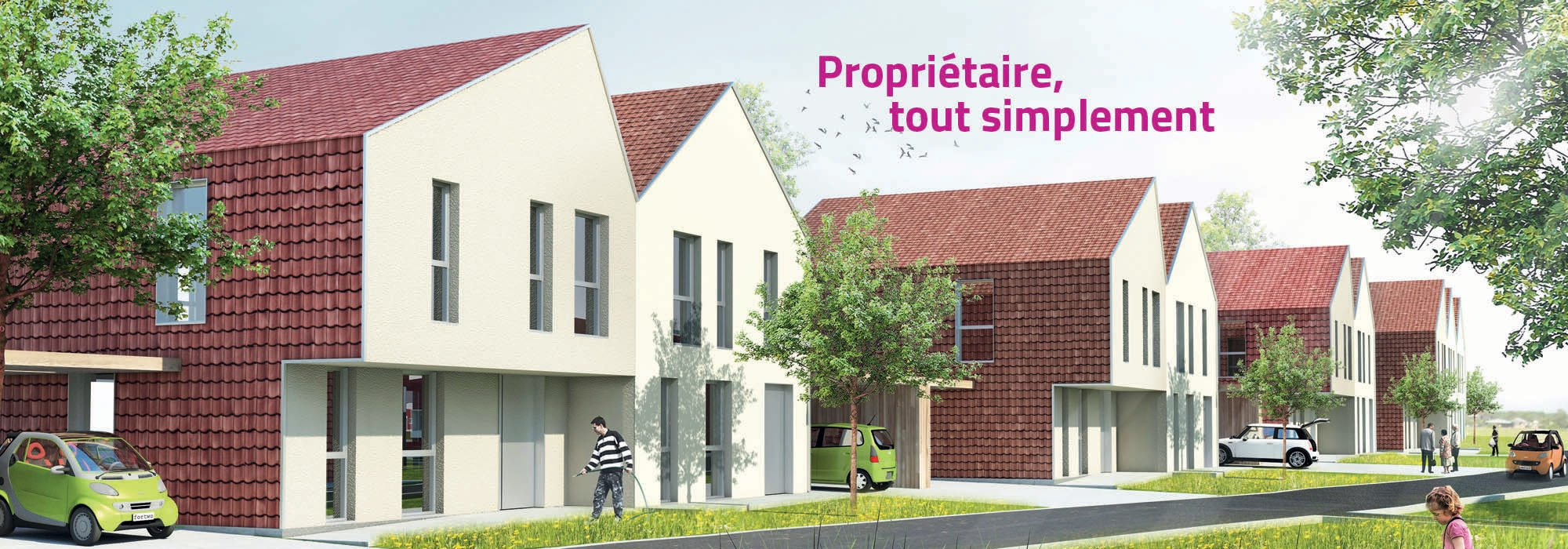 Noyelles-sous-Lens, rue de la Napoule
