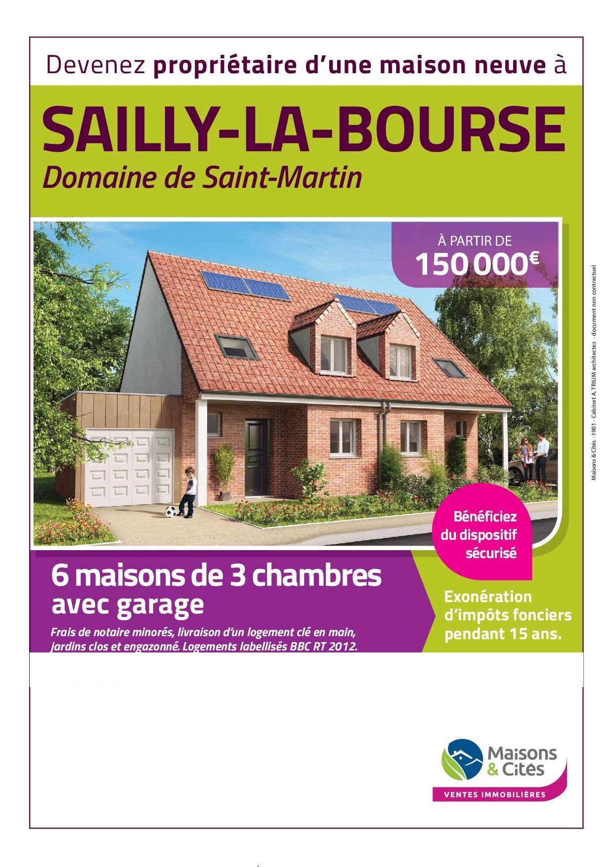 SAILLY – LABOURSE  » Le Domaine de Saint Martin »