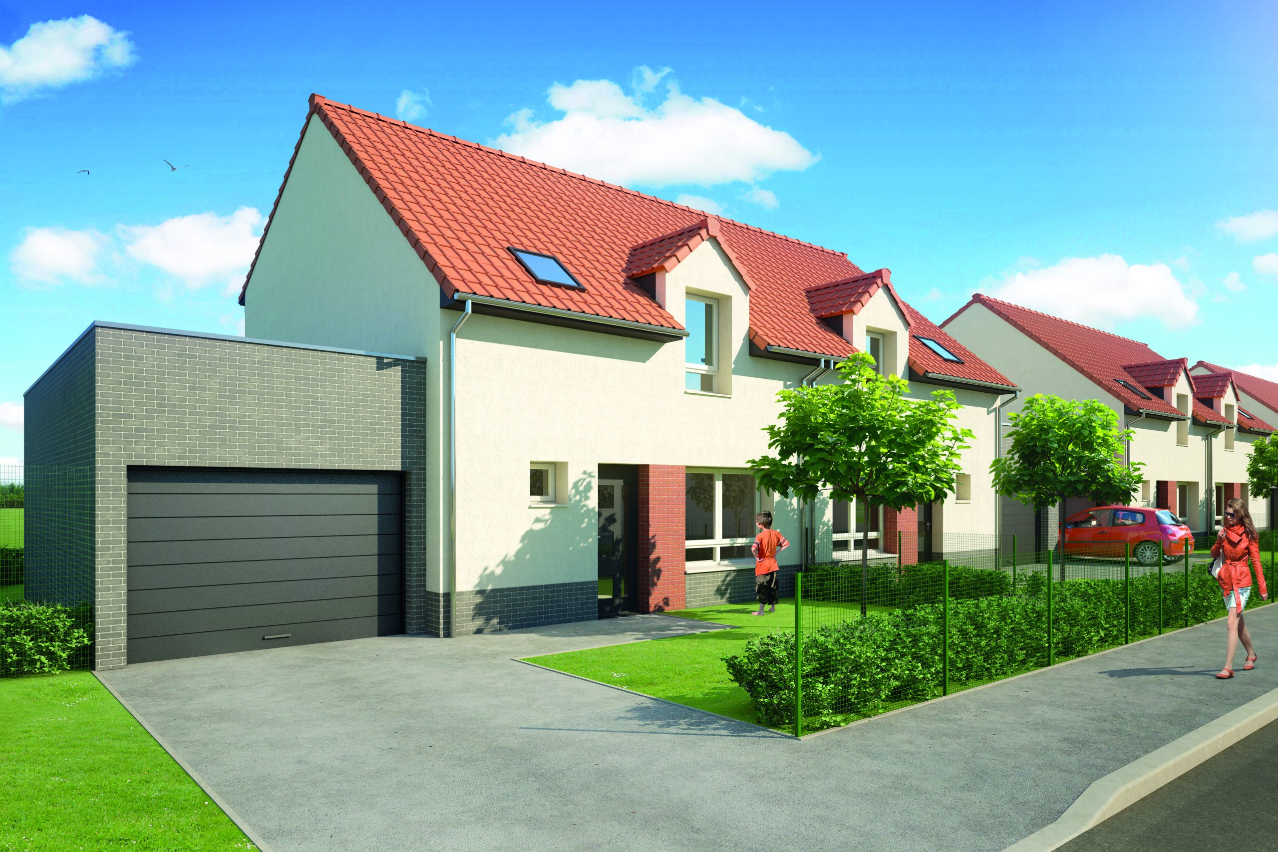 Rue des Lobélias – LALLAING – Livraison début 2021 – Dernières disponibilités