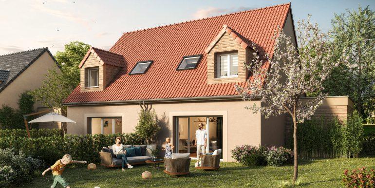 Maisons et Cites - Goeulzin - Ext jardin - V02